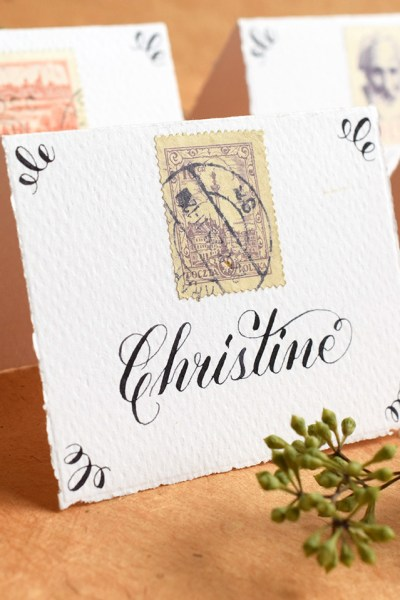 How to Create Your Own Calligraphy Styles | The Postman's Knock