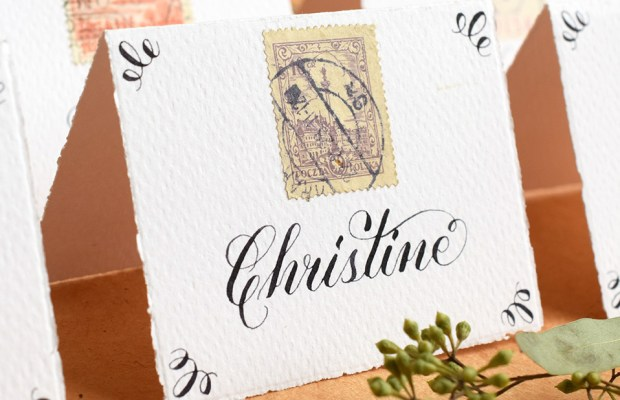How to Create Your Own Calligraphy Styles   The Postman's Knock