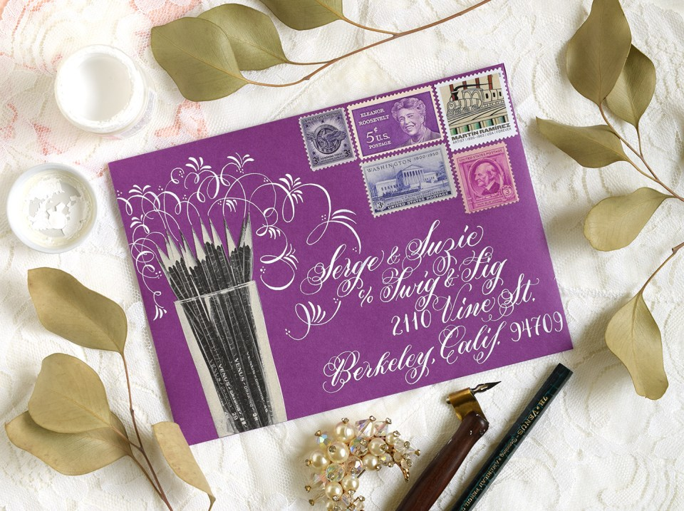10 Mail Art Tips | The Postman's Knock