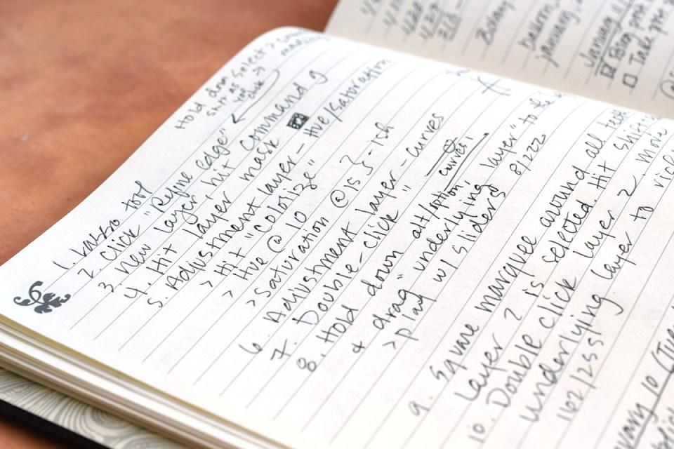 My Handwriting | The Postman's Knock