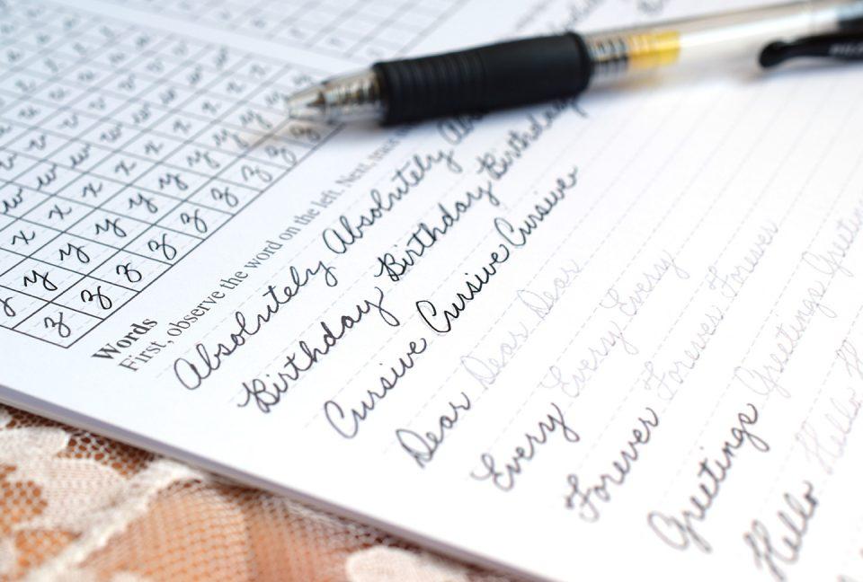 Cursive Handwriting: Tips And Practice Sheets