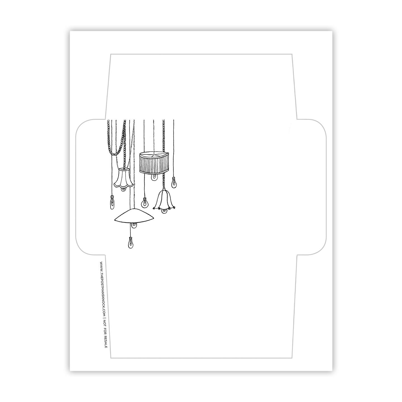 image relating to Printable Envelopes titled \