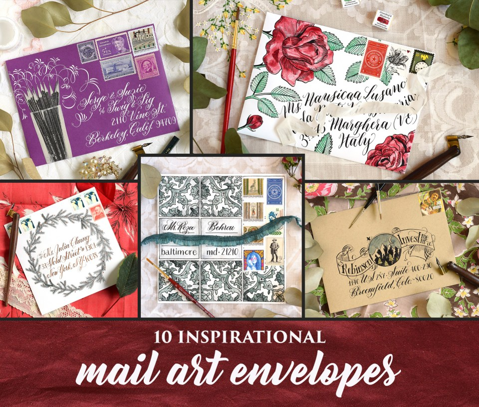 10 Inspirational Mail Art Envelopes | The Postman's Knock