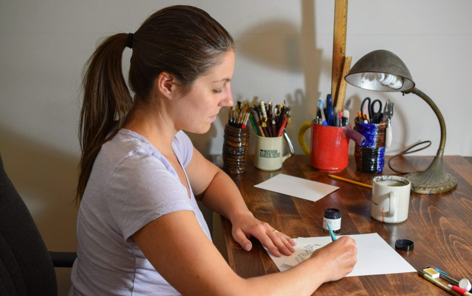 Five Non-Obvious Calligraphy Tips | The Postman's Knock