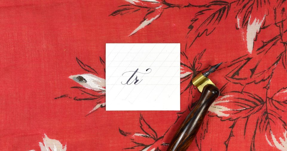 Dealing with Double Letters in Calligraphy | The Postman's Knock