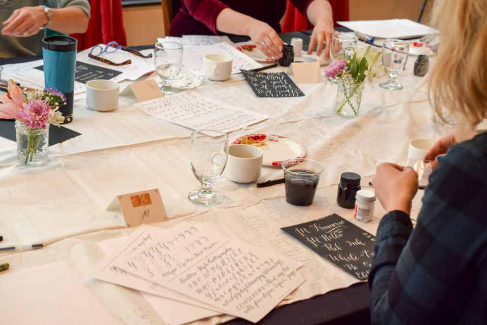 TPK Boulder Modern Calligraphy Workshops | The Postman's Knock