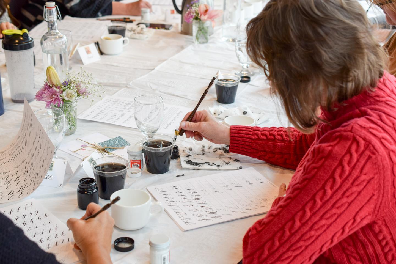 TPK Boulder Modern Calligraphy Workshops   The Postman's Knock