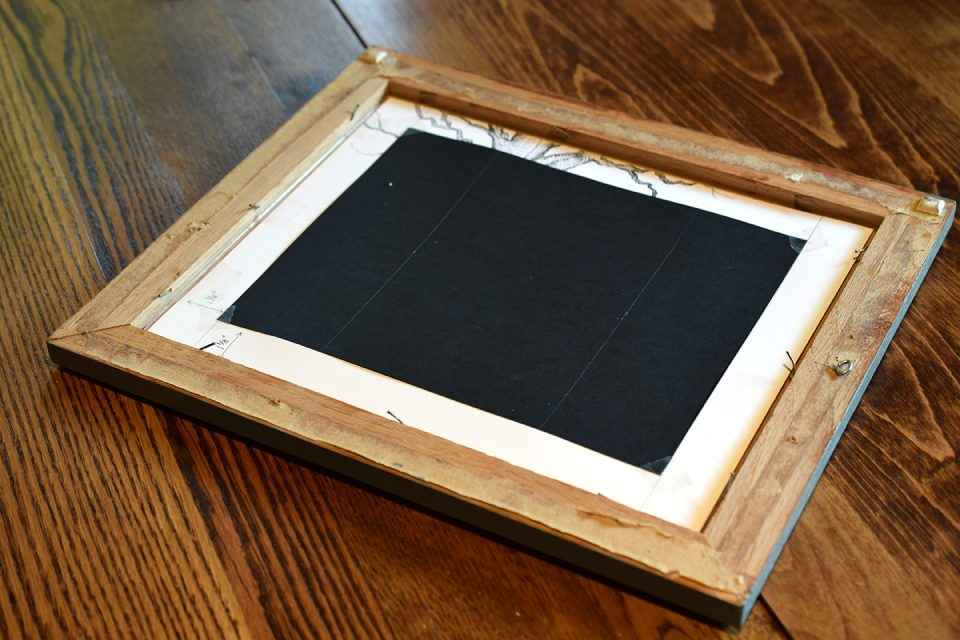 How to Frame Artwork on the Cheap   The Postman's Knock