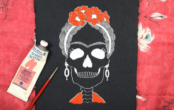 Frida Kahlo Halloween Art