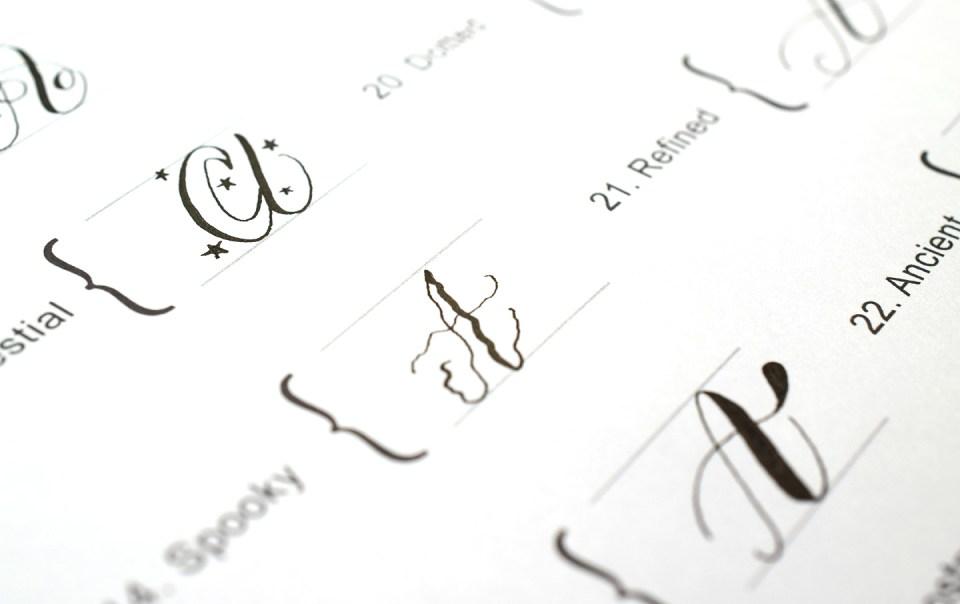 A Creative Calligraphy Challenge | The Postman's Knock
