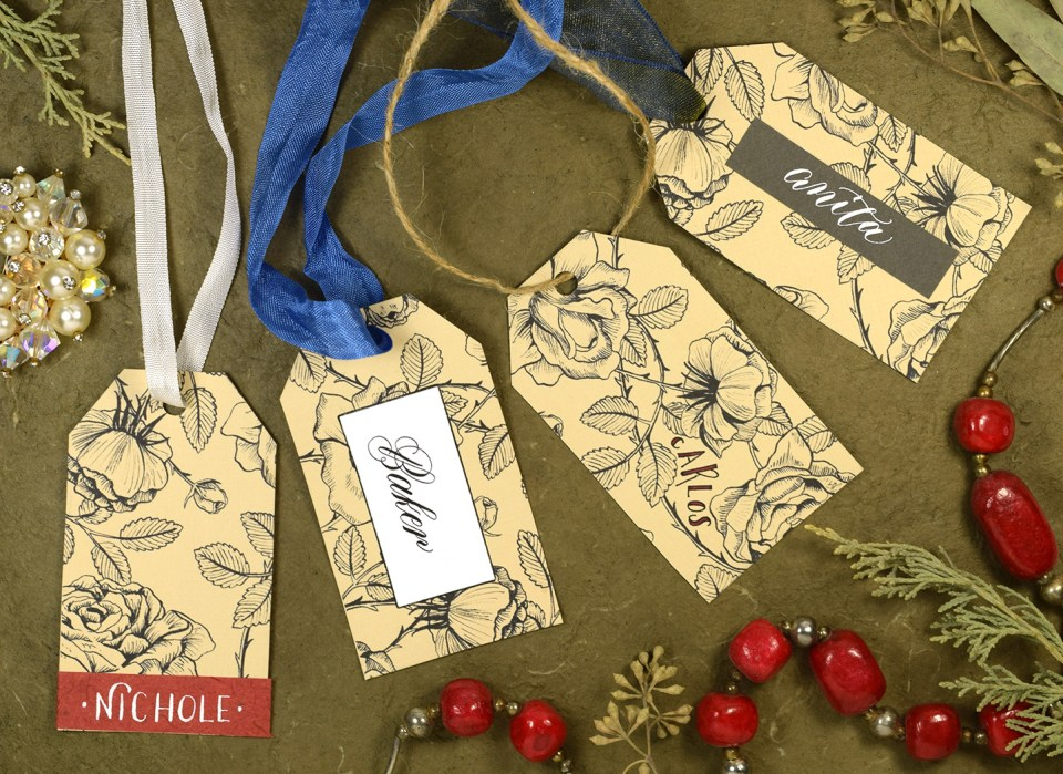 Easy Vintage Gift Tag Tutorial | The Postman's Knock