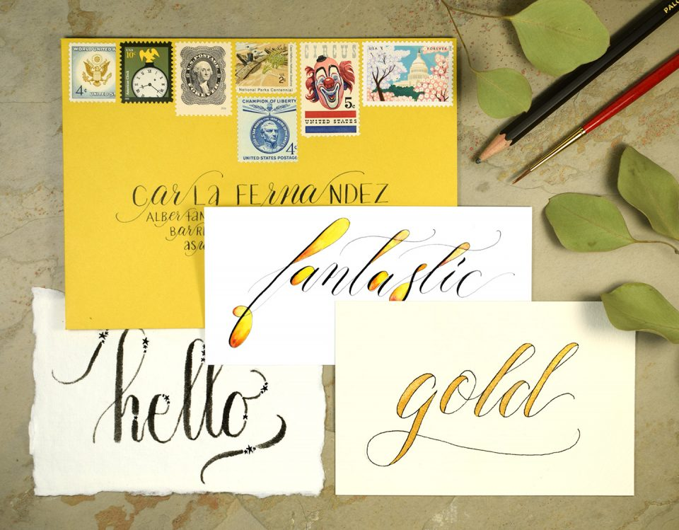 Four Hand Lettering Ideas to Try This Weekend | The Postman's Knock