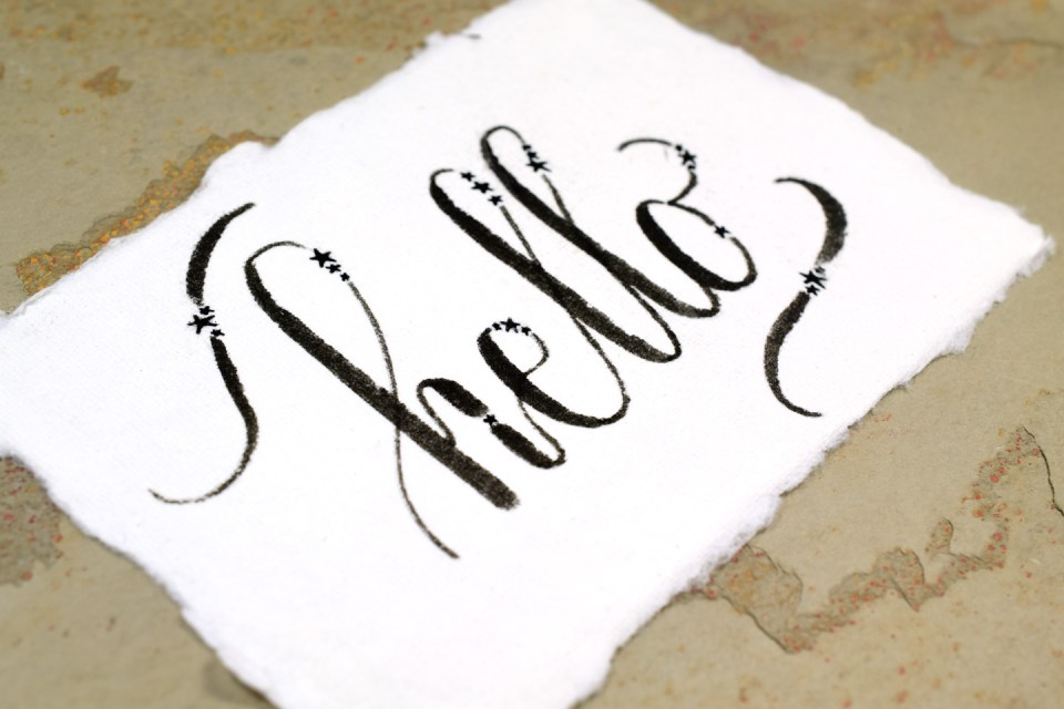 Four Hand Lettering Ideas to Try This Weekend   The Postman's Knock