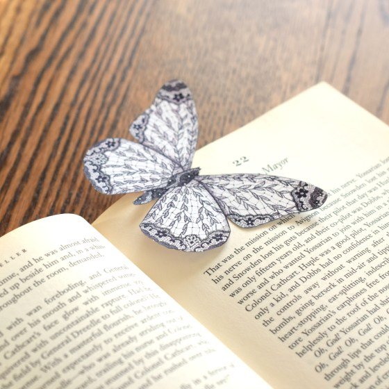 Small Butterfly Bookmark | The Postman's Knock