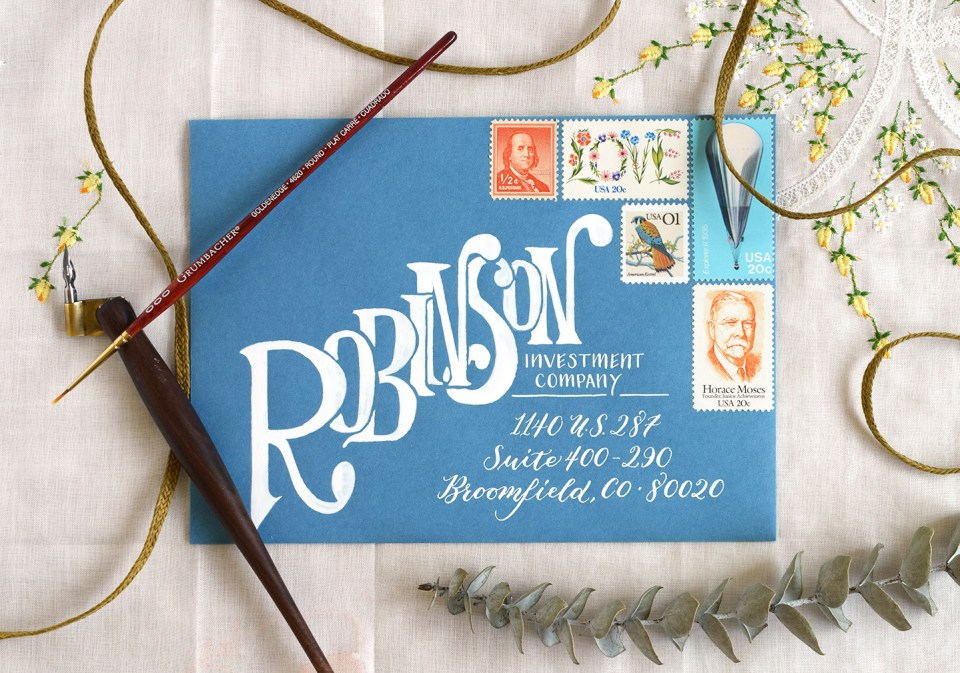 Rent Check Mail Art Envelopes: A Collection | The Postman's Knock