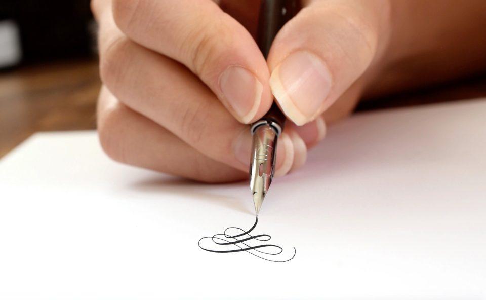 The TPK Beginner's Modern Calligraphy Online Course | The Postman's Knock