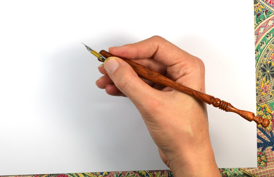 About the Oblique Calligraphy Pen | The Postman's Knock