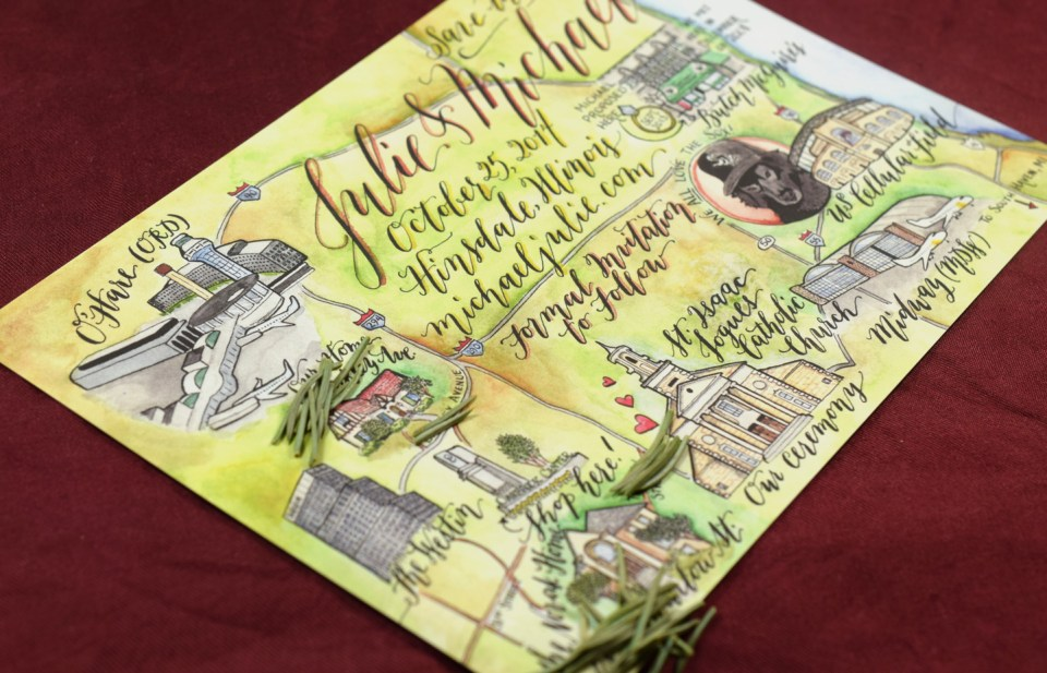 How to Create an Illustrated Watercolor Map | The Postman's Knock