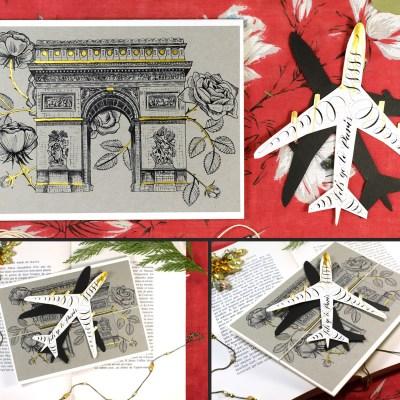 Let's Go to Paris Greeting Card Tutorial