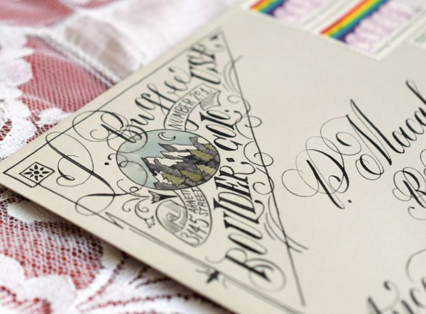 12 Artistic Envelope Ideas | The Postman's Knock