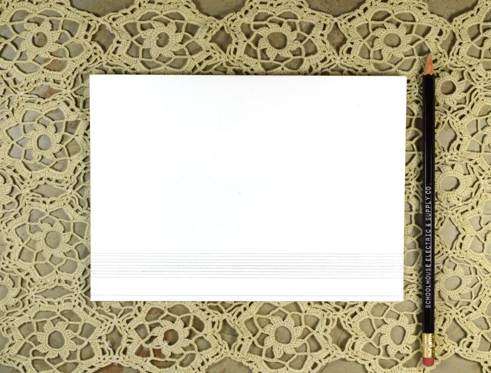 Monochrome Mountains Mail Art Tutorial + Free Printable | The Postman's Knock