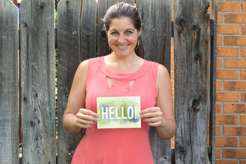 Hi, I'm Lindsey!   The Postman's Knock
