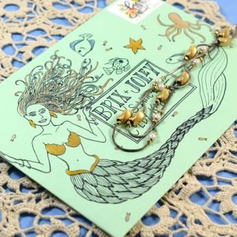 Mermaid Envelope | The Postman's Knock