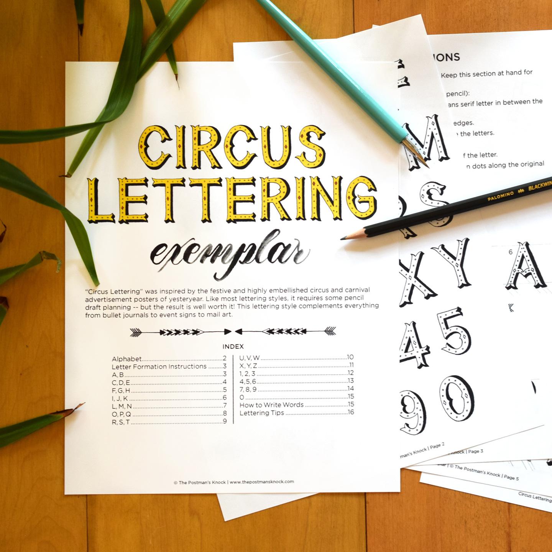 Alphabet Circus Writing