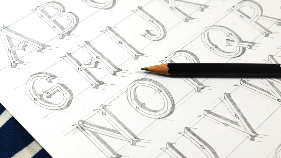 """""""Circus Lettering"""" Tutorial   The Postman's Knock"""