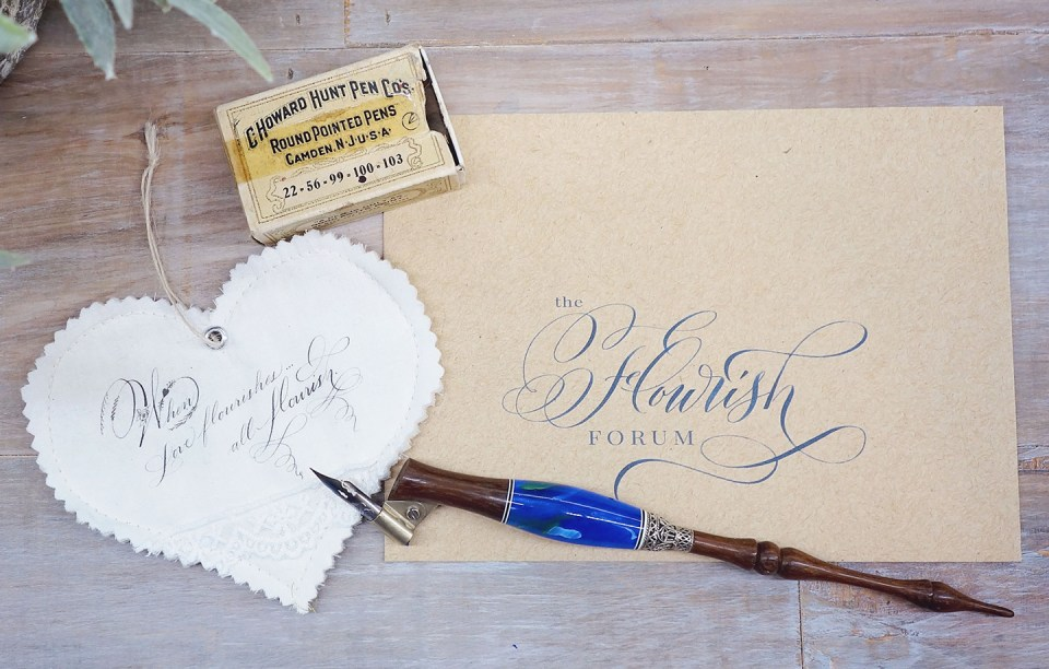 5 Free Calligraphy Learning Resources You May Not Know About | The Postman's Knock
