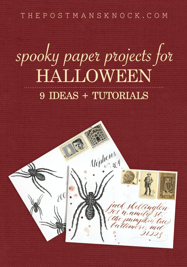 Nine Halloween Paper Projects | The Postman's Knock