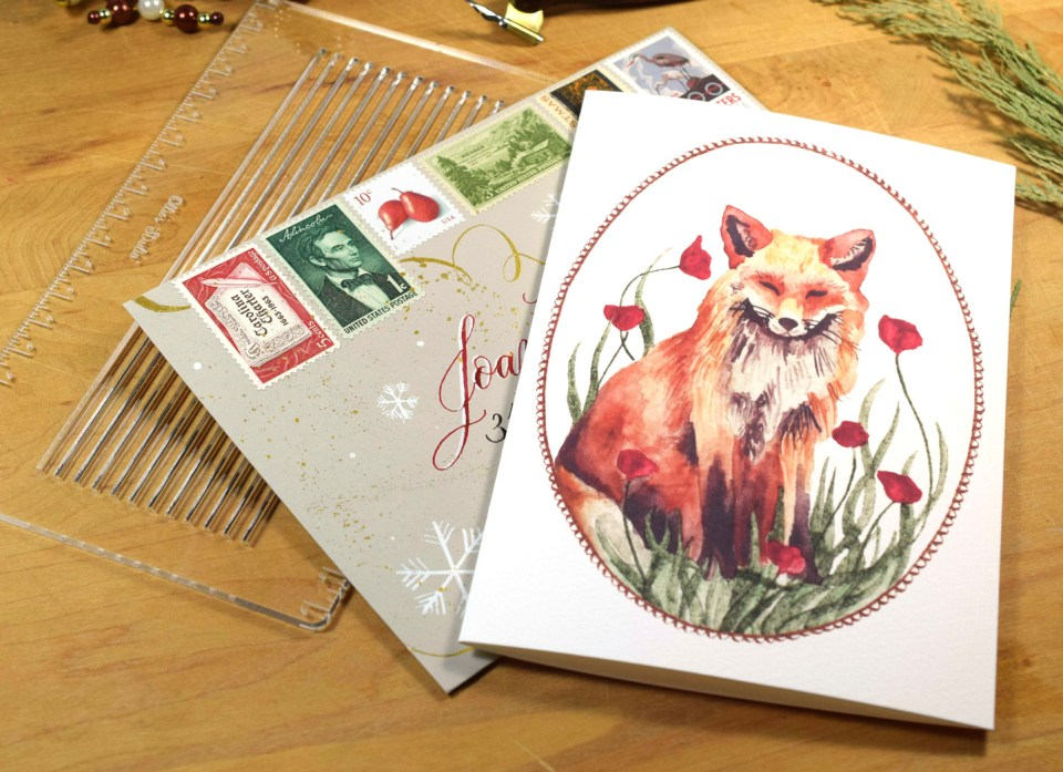 Ollie's Studio Envelope Liner Template Review | The Postman's Knock