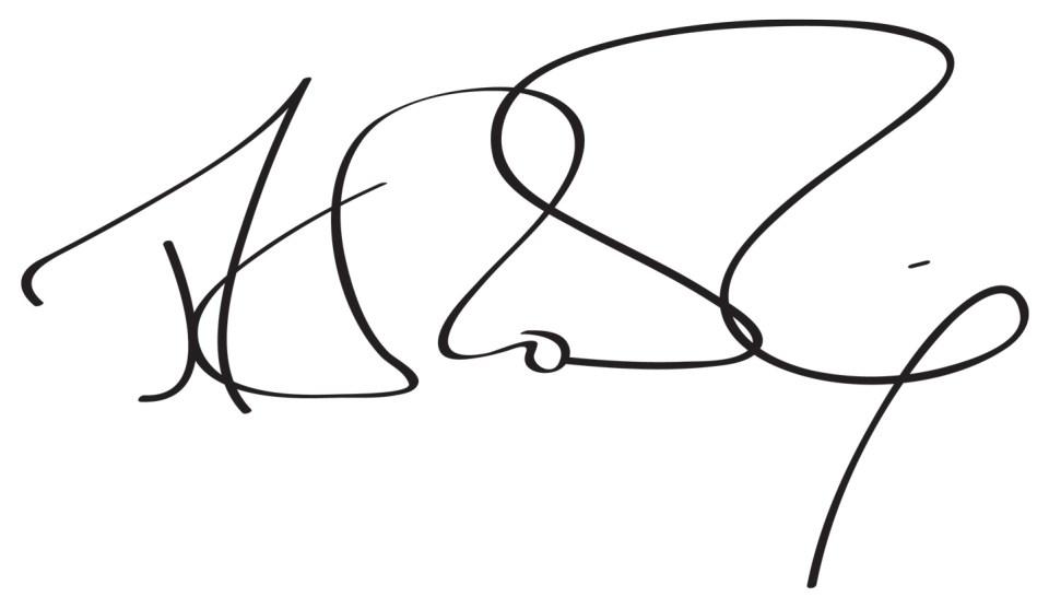 JK Rowling's Signature | The Postman's Knock