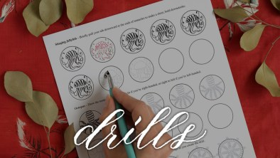 Featured Category - Calligraphy Drills | The Postman's Knock