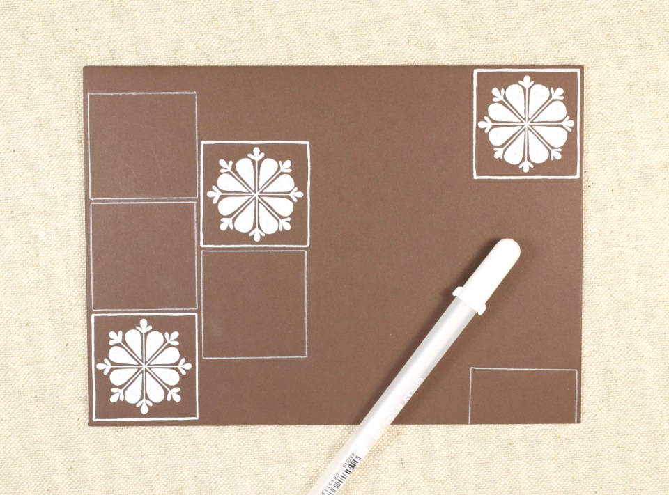 (Seriously Gorgeous!) Talavera Mexican Tile Mail Art Tutorial | The Postman's Knock