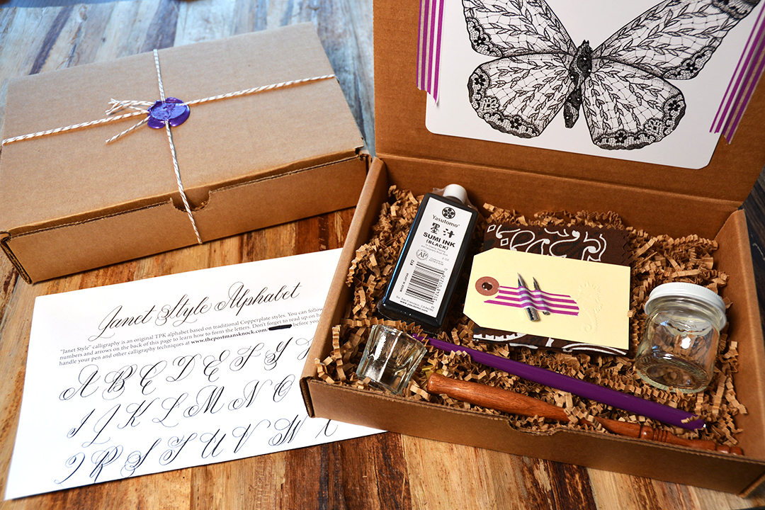 Ultimate Calligraphy Kit Giveaway | The Postman's Knock
