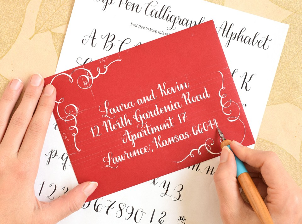 Amy Style Calligraphy: The Darling of the TPK Website | The Postman's Knock