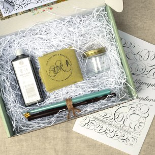 This is, hands-down, the best calligraphy starter kit available. It's been years in the making!