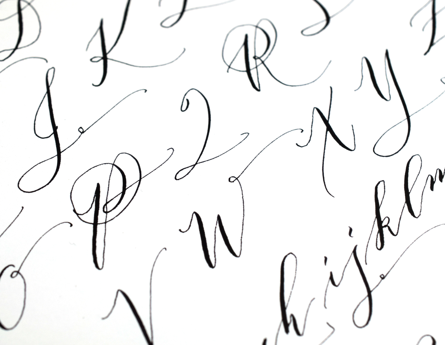 A Calligraphy Practice Reality Check | The Postman's Knock