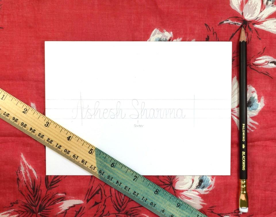 Simple Southwestern Envelope Art Tutorial | The Postman's Knock