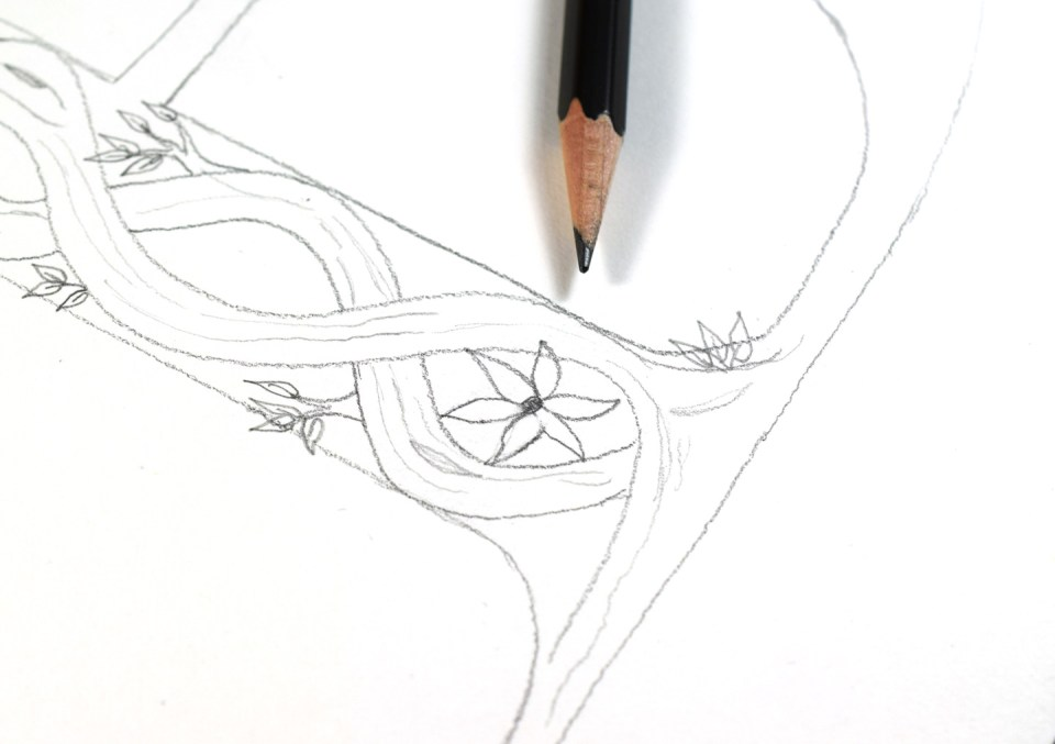 Drawing Flower 1