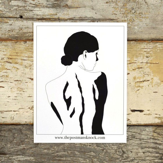 This printable will help you to complete the Calligraphy Artwork Tutorial: Woman's Silhouette!