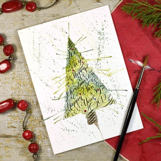 This worksheet includes exclusive access to a password-protected Christmas card tutorial!
