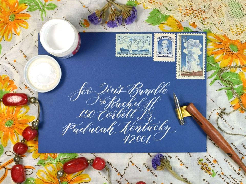 More Love Letters Envelope