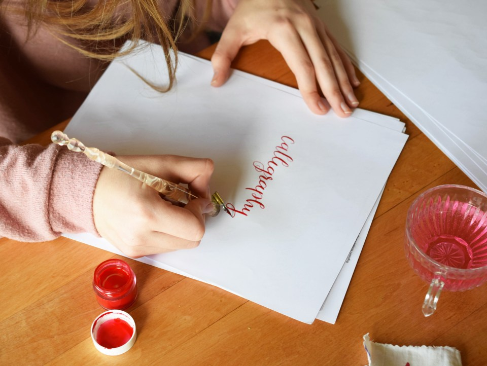 Can You Really Learn Calligraphy Online?