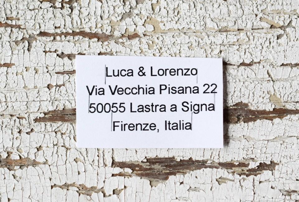 The Recipient's Address