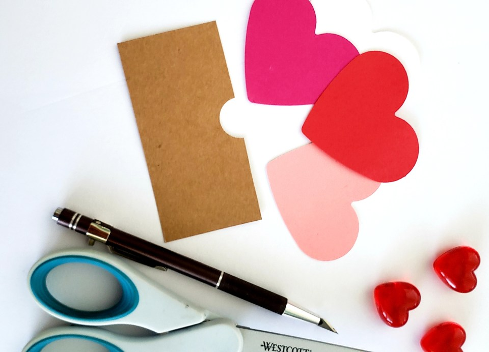 Hearts for the Matchbox Valentine