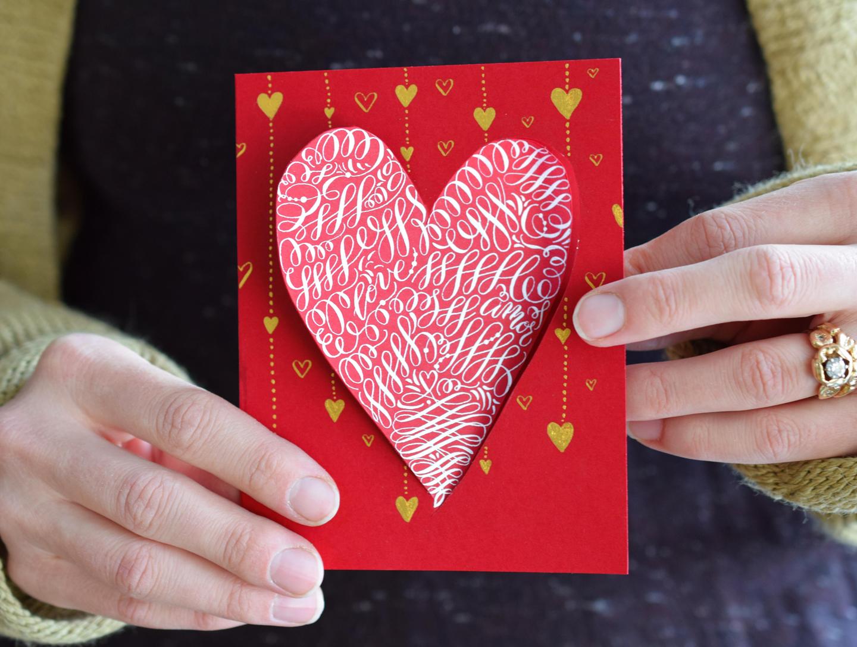 Stunning Valentine's Day Twist-Out Heart Card Tutorial