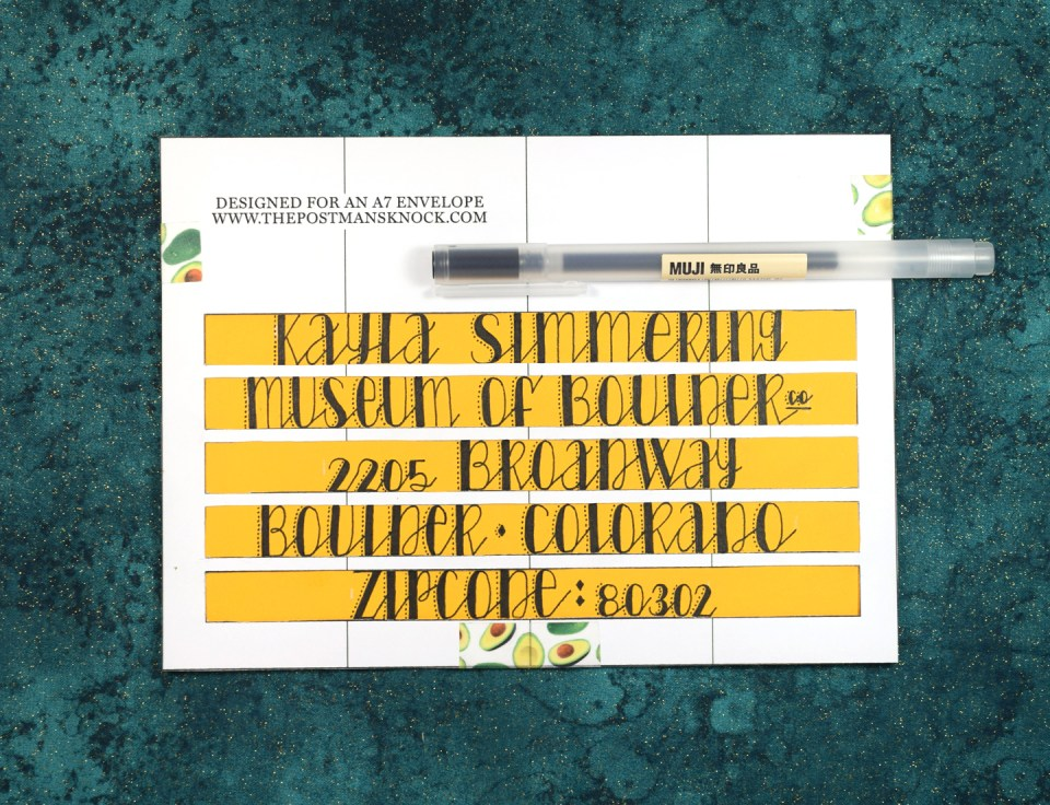 Hand Lettering Guidelines Free Printable Template