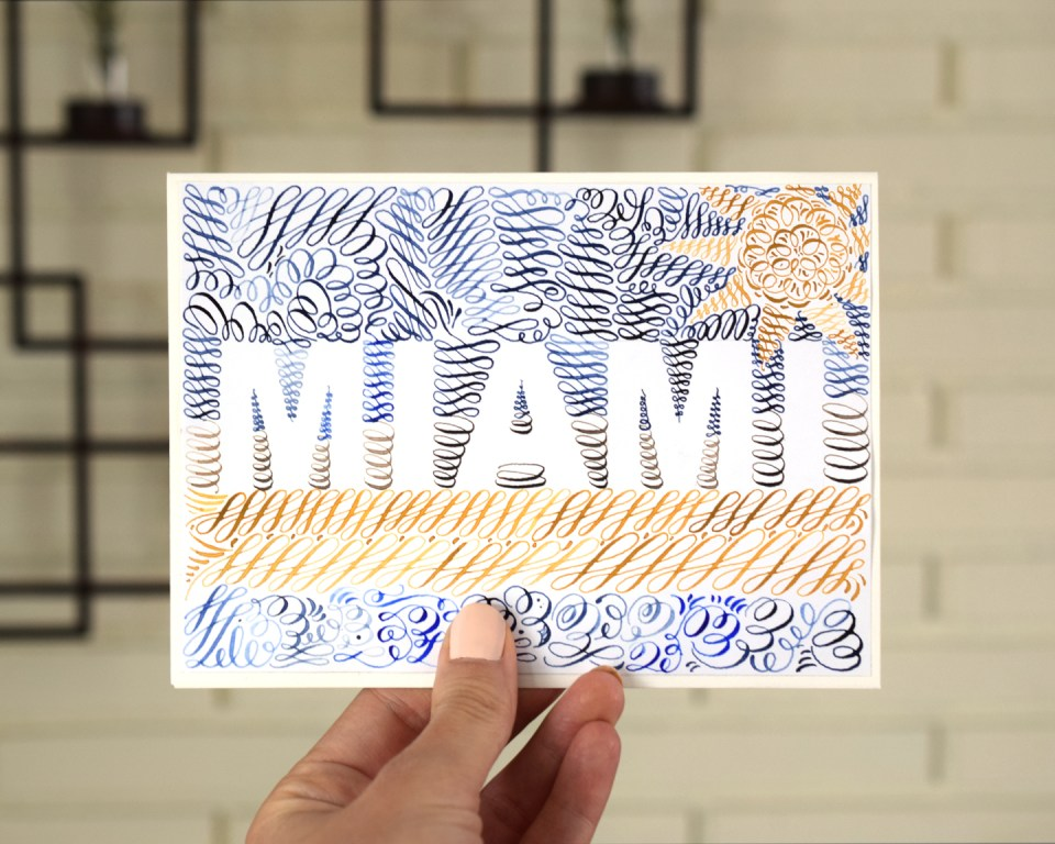 Meet Me in Miami for Calligraphy Workshops!
